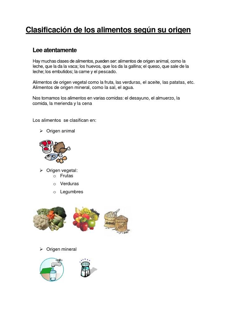Activitats origen dels aliments