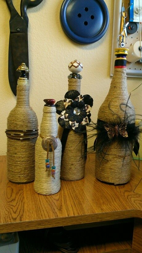 30 Ideas for Decorating Your Wine Bottles