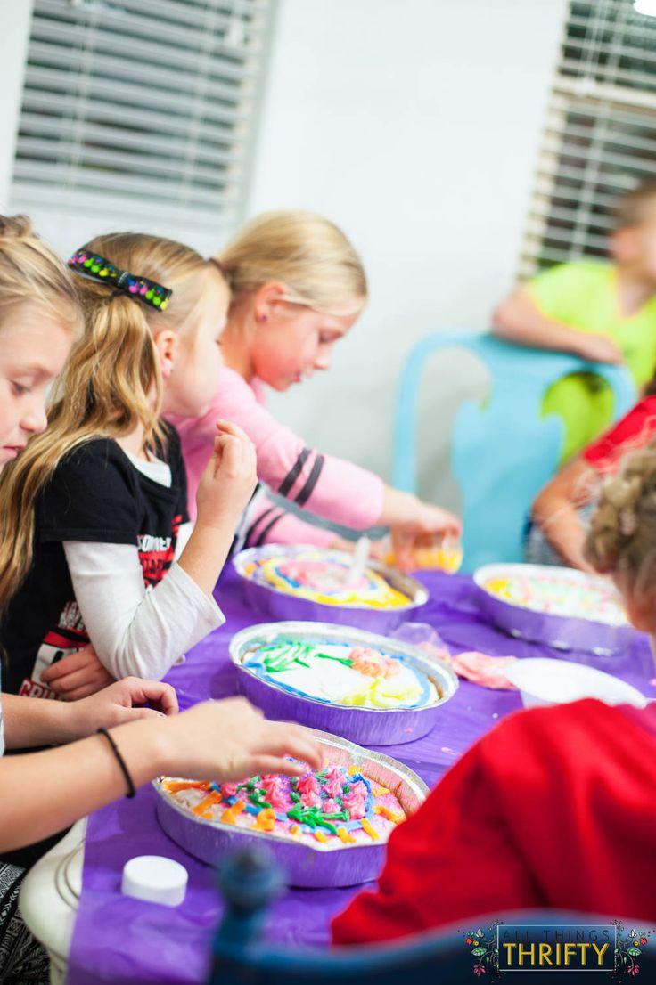Cake Wars Girls Birthday Party Ideas