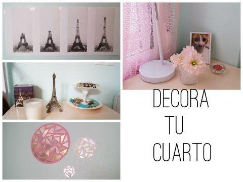 Decora tu cuarto f cil y bonito paperpop pinterest for Manualidades para tu cuarto