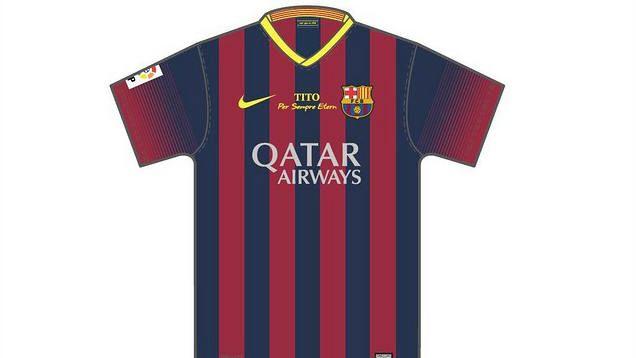FC Barcelona To Honour Tito Vilanova With a Special Kit