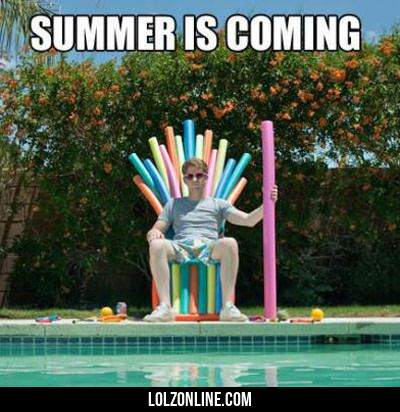 Summer Is Coming#funny #lol #lolzonline