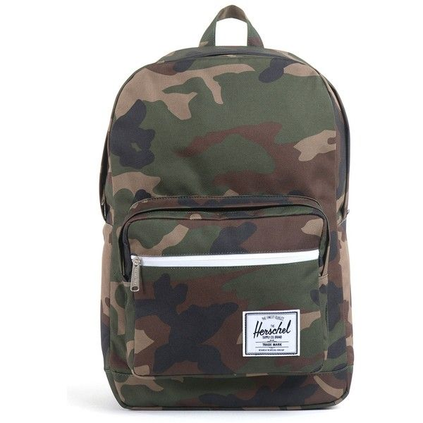 Herschel Pop Quiz Backpack (91 CAD) ❤ liked on Polyvore featuring bags, backpacks, backpack, camo, herschel, pop, herschel backpack, backpack bags, camouflage backpack and knapsack bag