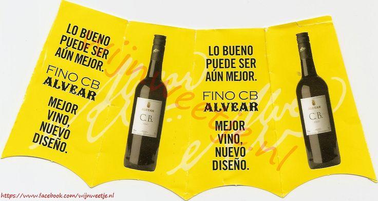 Good thing may be even better. Best wine new design./Goede zaak kan nog beter worden. Beste wijn nieuw ontwerp.