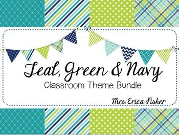 My first and hopefully not my last Classroom Decor Bundle! I had so much fun making this and I hope you love these colors as much as I do! After sharing a classroom ever since I got my credential, I got a bit excited about the prospect of my OWN room and had to create something that fit my personality and vision.What's Included:Welcome Signs for TK-3rd Grade8 Different Name Plates Items for Calendar - Month Heading- Number 1-31 plus 5 blank cards- Days of the Week Poster- Months of the Year…
