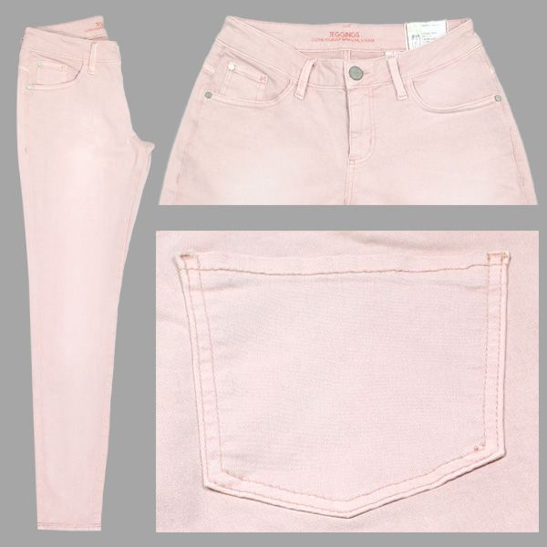 S. Oliver Damen Stretch-Jeans / Form: Jeggings Shape Regular / Farbe: altrosé - FarbNr.: 41Z4 / im S. Oliver Jeans Online Shop