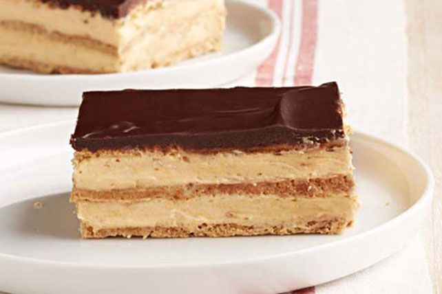 No Bake Chocolate Eclair Cake With Real Whipped Cream