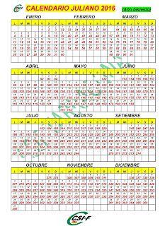 HorariaAstrology2016: Calendario Juliano 2016