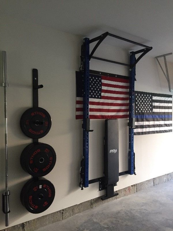 Best space saving squat rack images on pinterest