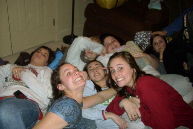 Team Sleepovers Were For Bonding Truth Girls Soccer