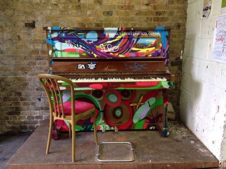 graffiti piano - Google-Suche