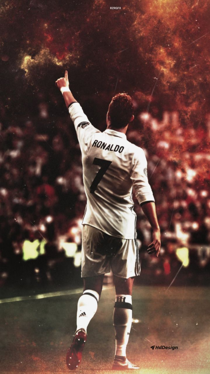 Cristiano Ronaldo Cr7 Realmadrid Christiano Ronaldo Soccer