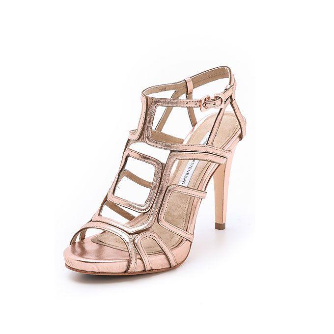 "Diane Von Furstenberg. Diane Von Furstenberg ""Jeanette"" cutout sandals, $298, available at Shopbop"