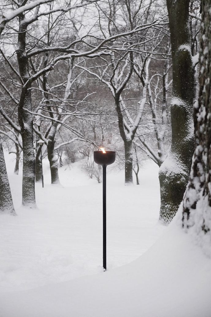 """Marfa Light"" garden torch by Claesson Koivisto Rune for Smaller Objects, Sweden"