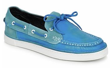 Chaussures bateau homme, modèle « Duke Fafou » de chez Swear