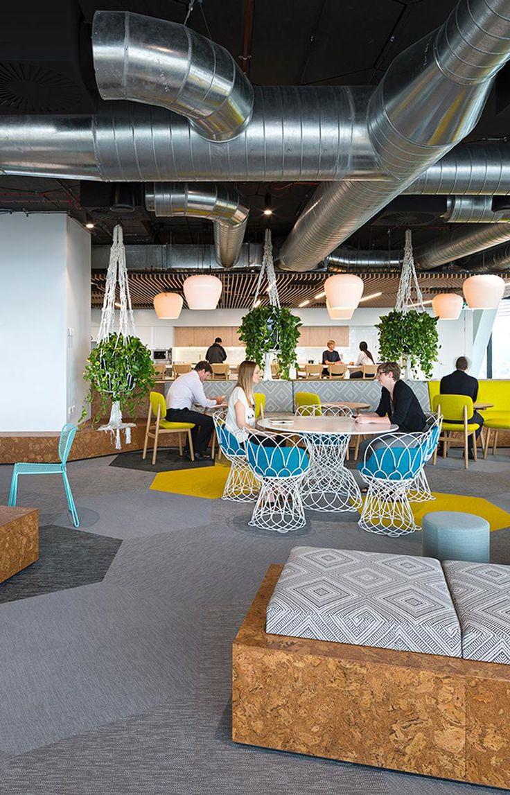 design cool office desks office. Love The Hanging Plants Photographer: Christopher Frederick Jones Design Cool Office Desks