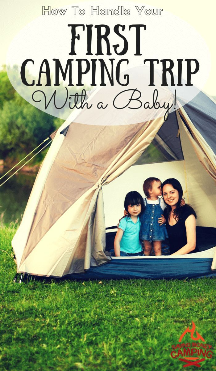 Terrified of camping with a baby?  So were we - until we utilized these tips! http://www.savingmoneycamping.com/how-to-handle-camping-with-a-baby/