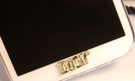 Jewelry Dior Home Button Samsung