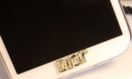 Jewelry Dior Home Button Samsung