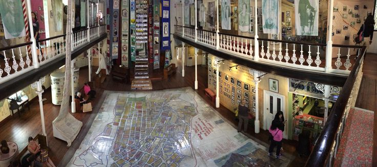The District Six museum is a fascinating place were you can speak with former inhabitants of this area.