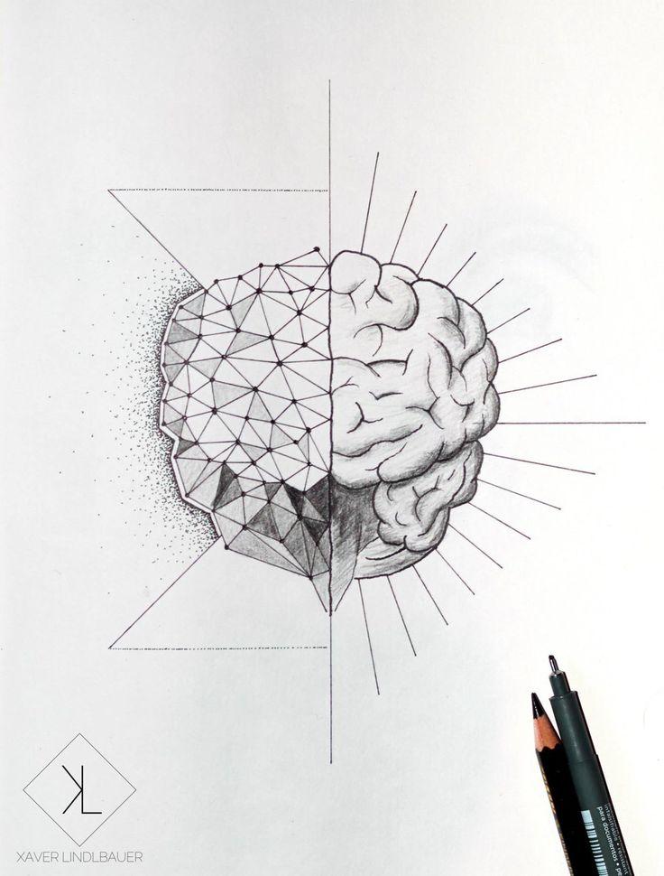 brain tattoo - Google zoeken                                                                                                                                                      More
