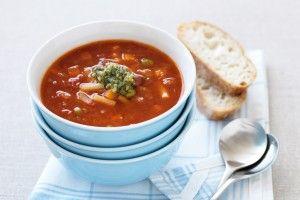 Pantry minestrone soup