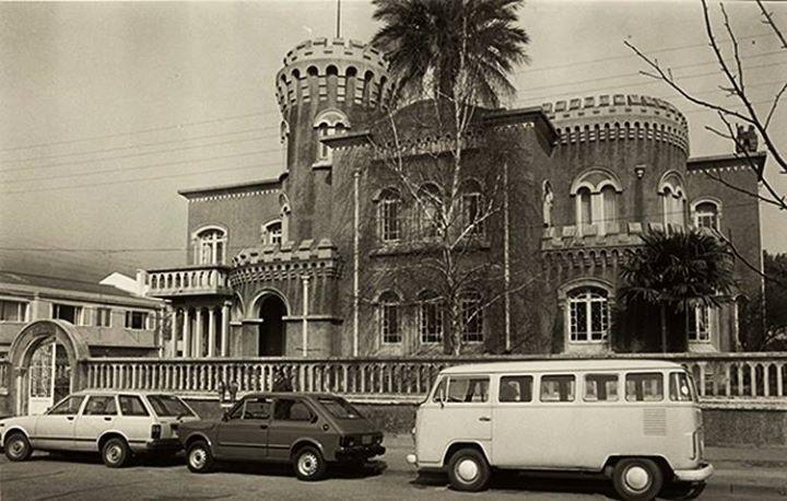 Casa Larenas en Concepción, actualmente destruído por la picota