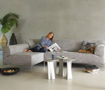 Sofa 'Bloq' by Roderick Vos