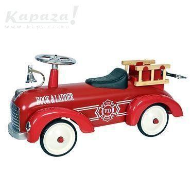 Retro brandweerwagen, Slaapkamers en bedden, Zelzate | Kapaza.be