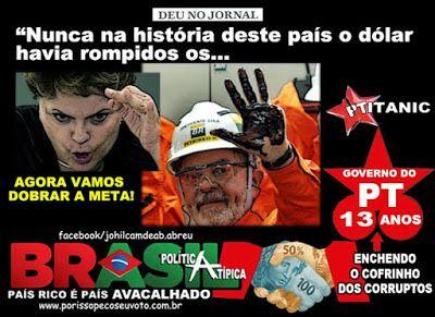 Disso Voce Sabia?: Dilma retorna com a CPMF e taxa lucros na venda de imóveis: dólar, inflação e desemprego vão subir