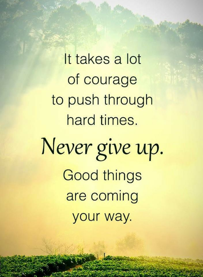Quotes It Takes A Lot Of Courage To Push Through Hard Times Never