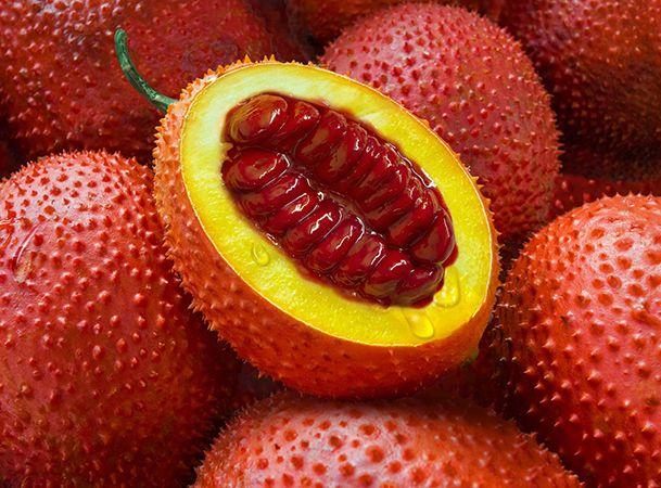 "نتيجة بحث الصور عن The gac or ""paradise fruit"""