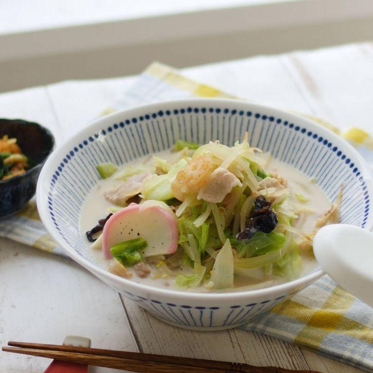 麺なしでも大満足!コクがすごいちゃんぽんスープ - macaroni