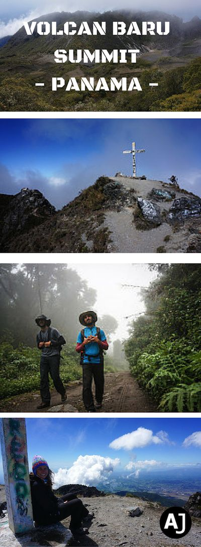 Hiking Trail to the Summit of the Highest Peak in Panama, Volcan Baru