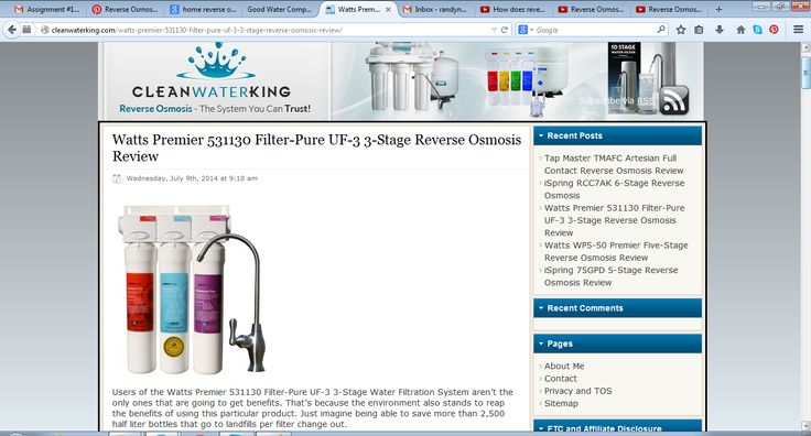 17 Best Images About Reverse Osmosis On Pinterest