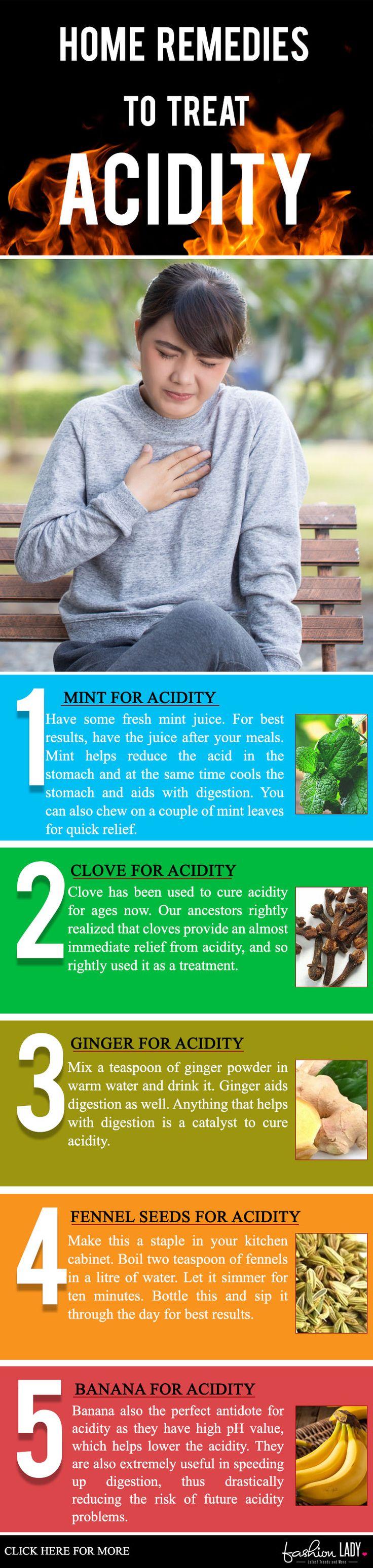 Home Remedies To Treat Acidity