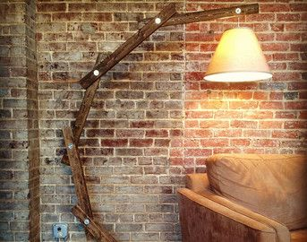 diy arc floor lamp - Google Search/Etsy
