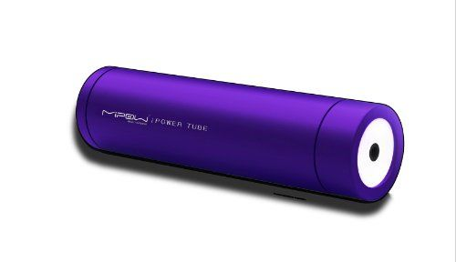 MiPow Power Tube 2200 - External Portable Battery / Charger for iPod Touch / iPhone 3Gs / iPhone 4 / Samsung / HTC / BlackBerry / Motorola / Nokia / other mobile phones / PSP / Nintendo DS series (Purple) Charge different mobile devices by simply connecting to an adaptor TIPS. Includes 11 adaptor TIPS for iPod / iPhone, Blackberry, HTC, Motorola, LG, Sony Ericsson, Samsung, PSP, NOKIA , Nintendo D... #MiPow #Wireless
