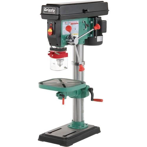 Shop our G7943 - 12 Speed Heavy-Duty Bench-Top Drill Press at Grizzly.com