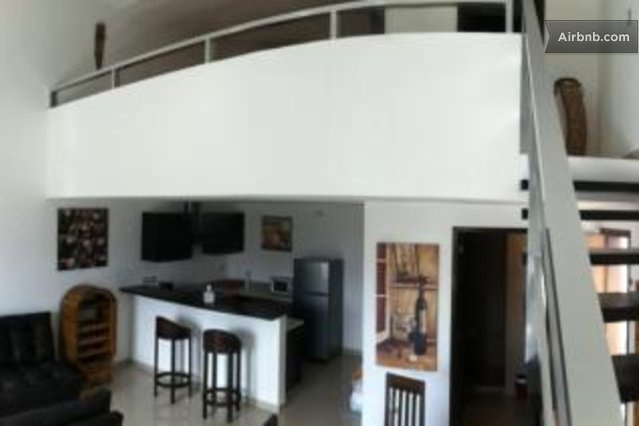 #1 1781$/MONTH Plaza Paraiso 1BR Penthouse Sofabed in Playa del Carmen