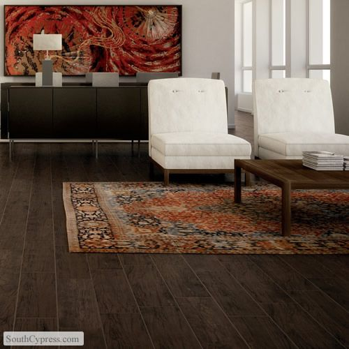 Chalet ebano featured on the traditional wood look ceramic tile page from south cypress - South cypress wood tile ...