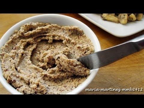 Recetas Dukan: Pat de Championes (Crucero) / Dukan Diet: Mushroom Pate (Cruise phase) sobre galletas de arroz!!!