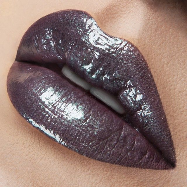 Today's #LipOfTheDay is 'Power Plant' #LipTar over 'Anita' #LipTar. Available now exclusively on OCCMAKEUP.COM!