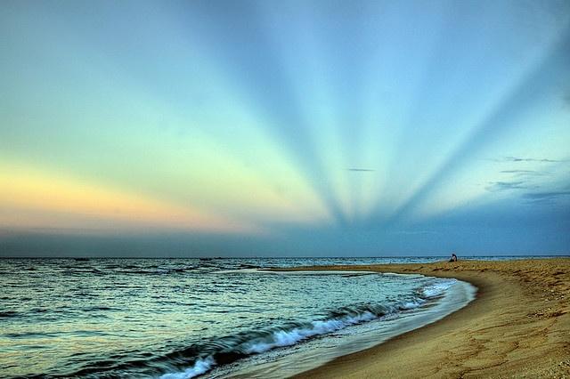 Nhat Le beach, Dong Hoi