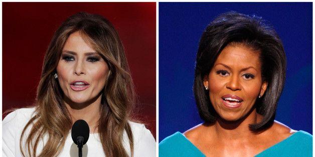 Oops! Melania Trump COPIOU o discurso de Michelle Obama em 2008