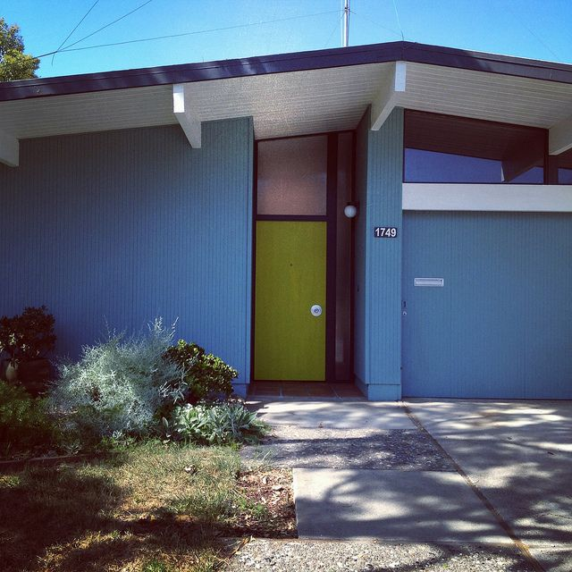 129 best images about eichler homes on pinterest mid for Eichler paint colors