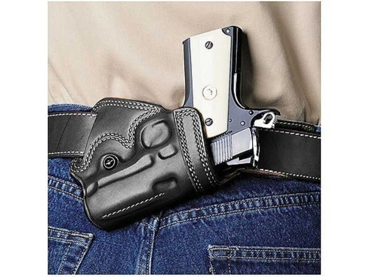 Product detail of Galco Small Of Back Holster Glock 27 Leather