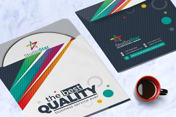 Creative CD Label Template by ContestDesign on @Graphicsauthor