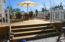 Idéer hur entrén ska se ut om altanen sitter ihop med entrén.