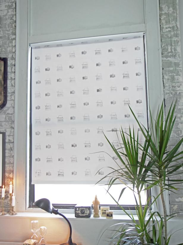 How to Decorate and Hang a Window Shade